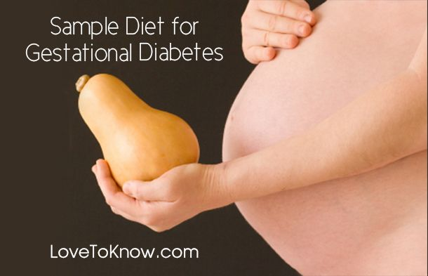 If you have gestational diabetes, you may need to change how you eat. The following sample diet is designed to serve as a framework for your daily meal plans. | Sample Diet for Gestational Diabetes from #LoveToKnow