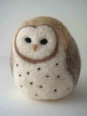 Needle Felted Owl Workshop   Sifu Design Studio
