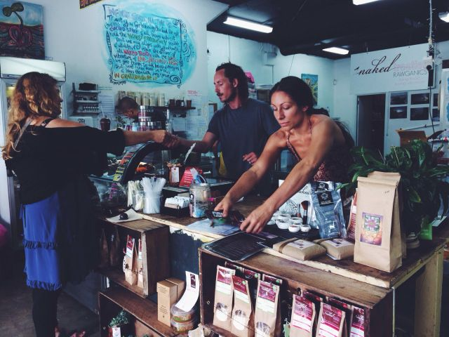 Raw Organic Food Bar in Byron Bay