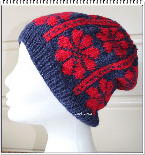Ravelry: Grethes hat pattern by Guri Østereng Halvorsen free