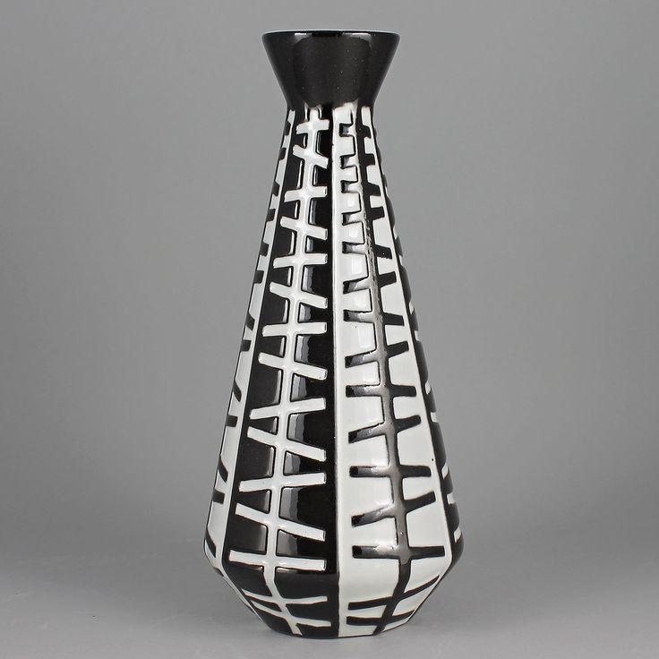 Ingrid Atterberg (Pronto 1958) Modernistic Cone Vase