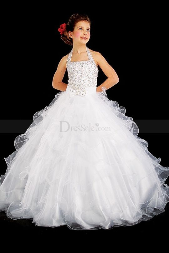 20 Best Images About Miniature Bride On Pinterest | Girls Pageant Dresses Princess Ball Gowns ...