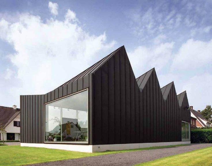 8 best vmzinc anthra zinc images on pinterest aluminium for Architecture zinc