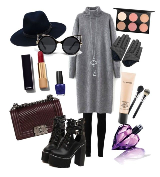 Untitled #2 by zuxrav on Polyvore featuring polyvore, fashion, style, Max Studio, WithChic, Chanel, rag & bone, ZooShoo, MAC Cosmetics, Diesel, OPI, women's clothing, women's fashion, women, female, woman, misses and juniors