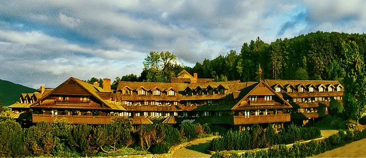 Vacation here: Von Trapp Family Lodge in Stowe, Vermont! Actually owned by the Von Trapp Family from Sound of Music.