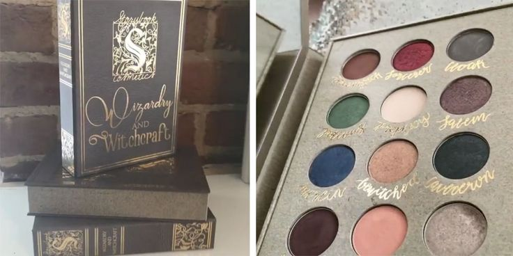 """Harry Potter"" eyeshadow palette from storybook cosmetics 