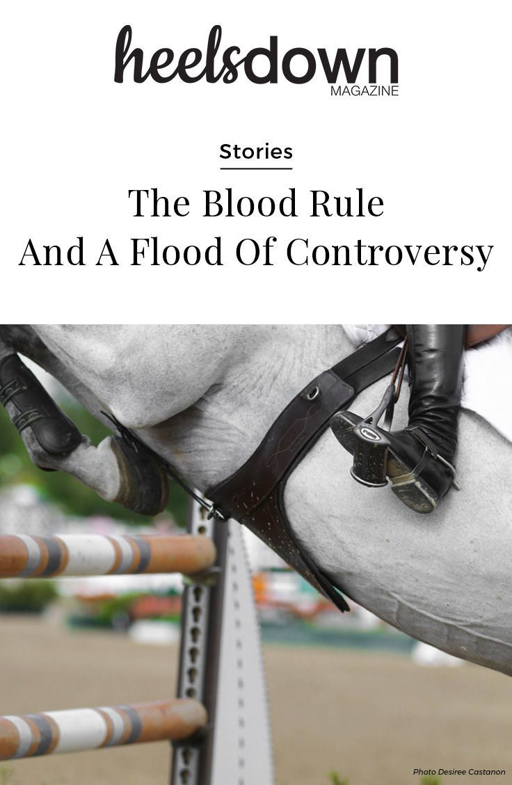 At the Olympic Games in Rio, four show jumpers were eliminated from individual competition when a ground jury found that riders drew blood on their horses with the whip or spurs. Despite this, they were allowed to continue in team events. [Read more...]