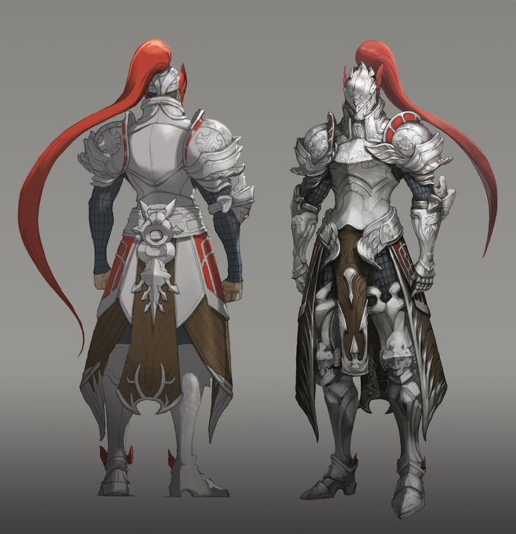 ArtStation - 기사_knight, Yong Hwan Shin