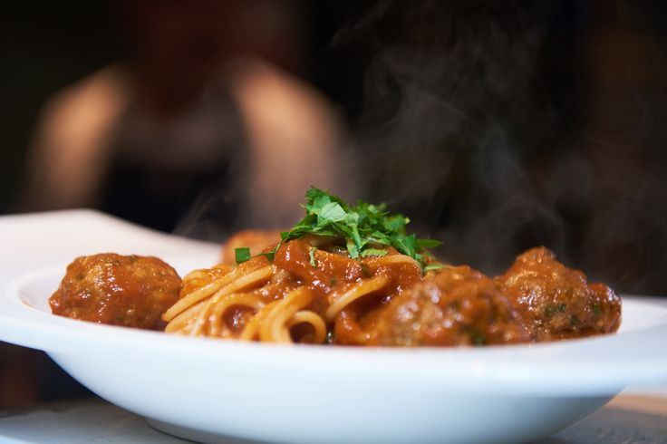 Have you tried our #spaghetti with #meatballs, #basil and #parsley in #TomatoSauce (Spaghetti Con Carne)? All of our food is available to order online with #deliveroo at  #bellavita #broadwaymarket #hackney #dalston #london #eastlondon #foodie #italian #italianrestaurant #italianfood #foodpic #foodism #foodphotography #wednesday