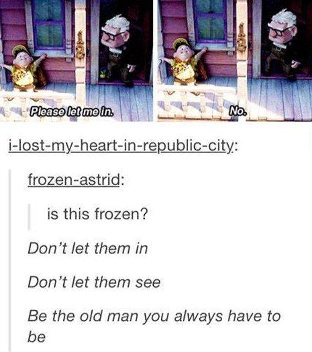 This musical riposte:   31 Tumblr Posts Only True Disney Fans Will Appreciate