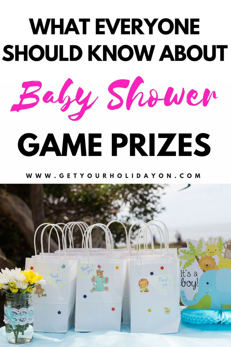A mom resource guide to picking out the best & affordable baby shower game prizes for guests. This helpful guide will answer your questions on where to buy prizes for baby shower games, baby shower game prize ideas, and most popular door prizes and party favors for any baby girl or boy shower! @getyourholidayon