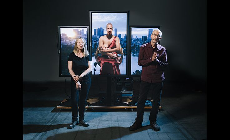 The industrial wasteland of Signal Hill, California, with its pumping oil derricks and fast-food restaurants, couldn't be further from the transcendent tranquility of Christopher Wren's London, but it is here that renowned artist Bill Viola has complet...