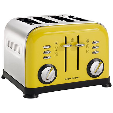 Buy Morphy Richards Accents 4-Slice Toaster Online at johnlewis.com