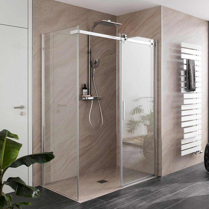 Schiebetur Dusche 12 Top Beispiele Fur Dusche Mit Gleittur System