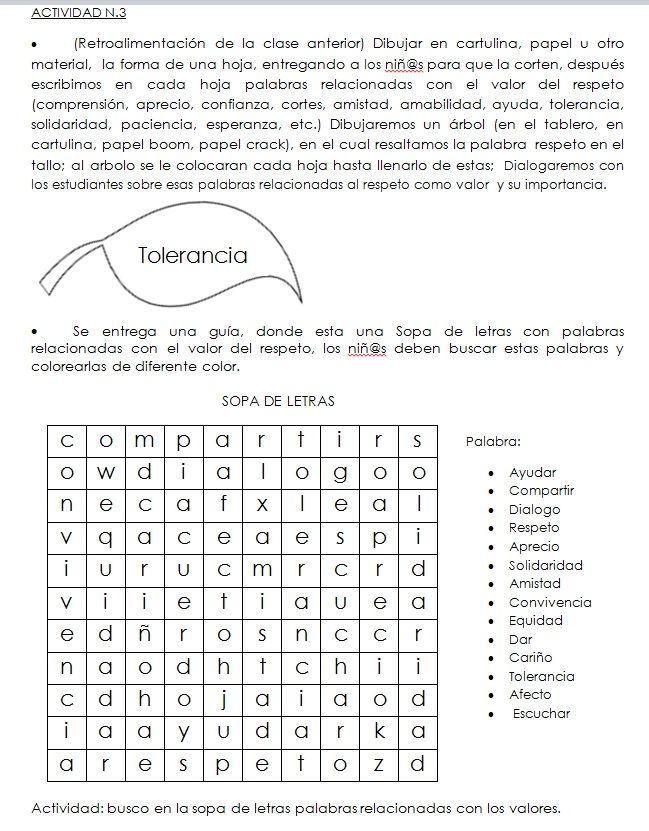 Resultado De Imagen Para Talleres De Etica Y Valores Para Imprimir Etica Y Valores Clases De Tecnologia Imprimir Sobres