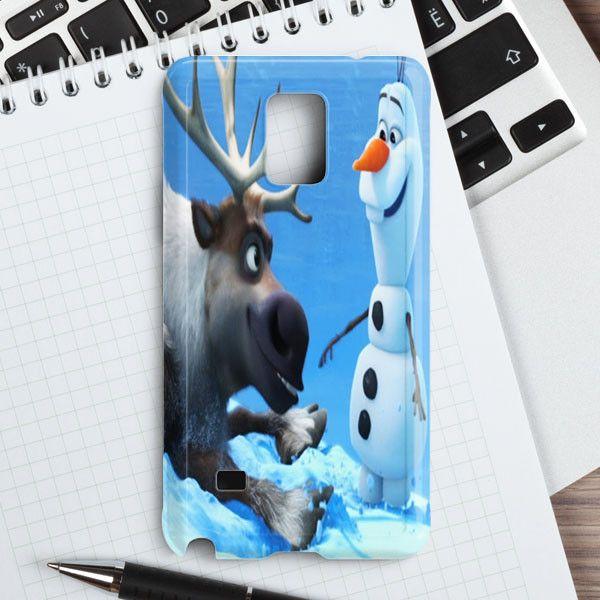 Sven And Olaf Funny Cartoon Samsung Galaxy Note 5 Case   casefantasy