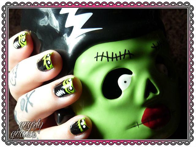 Mejores 12 imágenes de Gnarly Gnails - Monsters en Pinterest ...