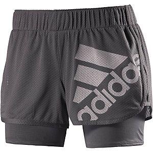 <title>Adidas M10 Laufshorts Damen anthrazit im Online Shop von SportScheck kaufen</title>