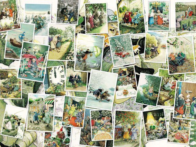 Moet het ergens over gaan?: Alle 32 Inge Look Fiffi en Ali kaarten voor een aa...