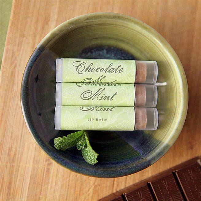 Chocolate Mint Lip Balm from My Own Ideas blog #homemade #beauty #diy #craft