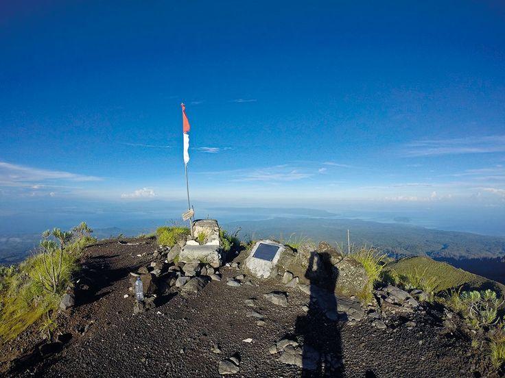 Puncak Tambora, Sumbawa, Nusa Tenggara Barat