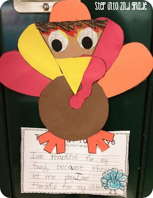 Step into 2nd Grade with Mrs. Lemons: Is it Thanksgiving yet?!