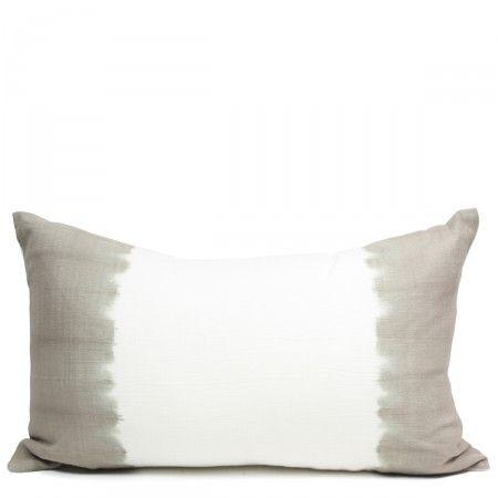Bali Stripe Pillow- GrayImage, Home Decor, Dyes Pillows, Throw Pillows, Gray 45, Stripes Pillows, Furbish Studios, Furbishstudio, Bali Stripes