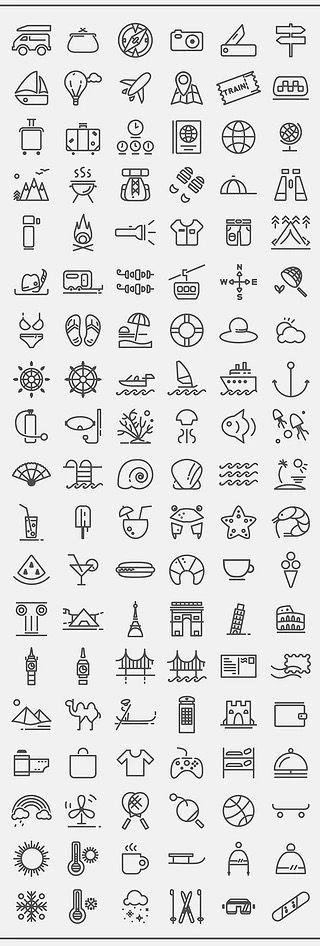 bujo icon ideas!