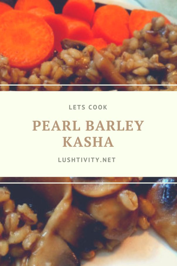 Pearl barley, or perlovka, is considered a pearl among the cereals because of its exceptional nutritional properties. This typical Russian recipe is an easy way to sample this healthy grain.    As it mentions, pearl barley is healthy! It contains a lot of vitamin c, it is great for people who have diabetes because it has beta-glucan solluble fiber, and it is good for your digestion overall.