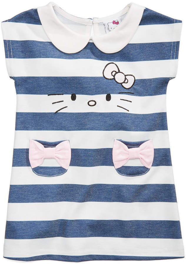 1382e2dc8c82e Hello Kitty Striped Dress, Baby Girls | Products in 2018 | Pinterest