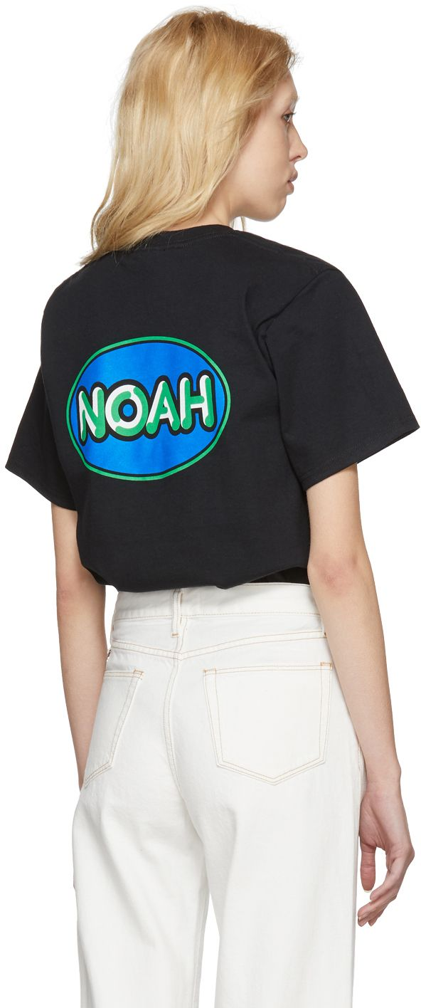Noah NYC - Black Delivery Logo T-Shirt