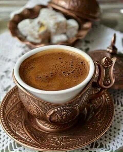Turkish Coffee and Lokum (Turkish Delights) - Ana Rosa