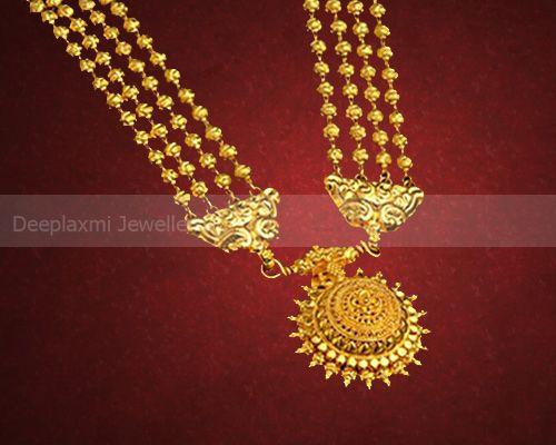 Mohal Maal Maharashtrian Jewellery Pinterest Gold