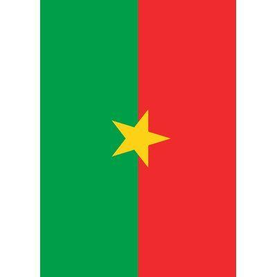 Toland Home Garden Burkina Faso Garden Flag