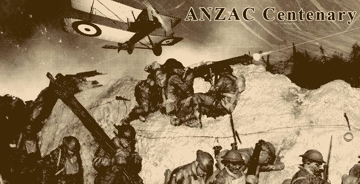Students can explore information about the history of ANZAC Day and the ANZAC Centenary.