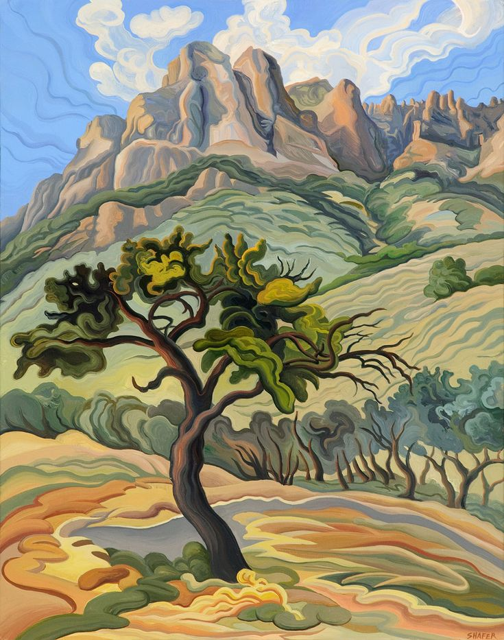 Mountain Mahogany by Phyllis Shafer