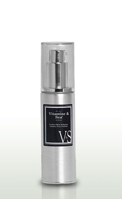 Perfect Skin Solution by Vitamine & Sea.  I received a sample of this product and after a few uses, my skin was softer, clearer and my skintone more even.