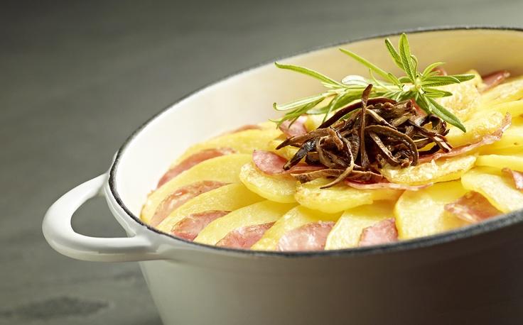 Kresowa zapiekanka ziemniaczana z grzybami - Kuchnia Lidla #lidl #przepis #zapiekanka #ziemniaki
