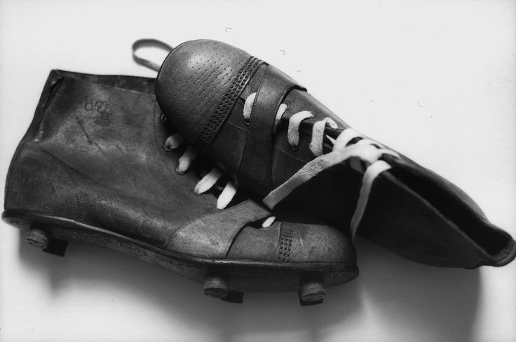 The street games North East kids played in the days before Xbox and PlayStation: A great pair of old football boots – very different from today's lightweight, coloured boots