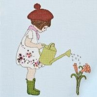 'I Grew These For You' Cross Stitch Pattern