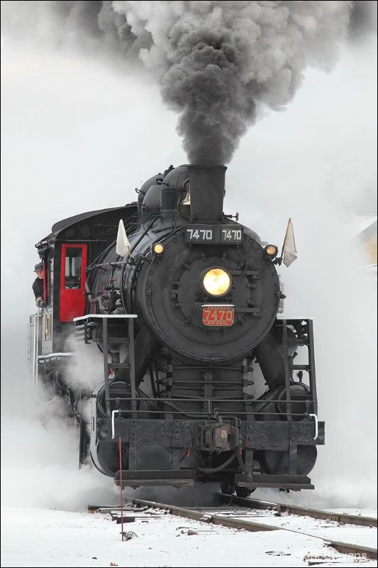 Steam in the Snow #2 - Photograph at BetterPhoto.com