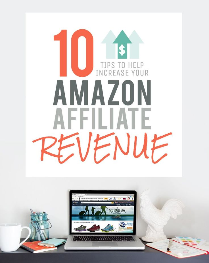 Learn how to totally rock your Amazon affiliate account by following these 10 tips for increasing your Amazon affiliate revenue.