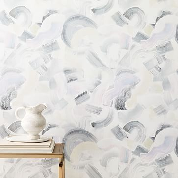 Geo Wallpaper, Mirrored Wallpaper, Prepasted Wallpaper, Wallpaper Panels, Bathroom Wallpaper, Peel Stick Backsplash, Triangle Wall, Mirror Wall Art, Popular Art