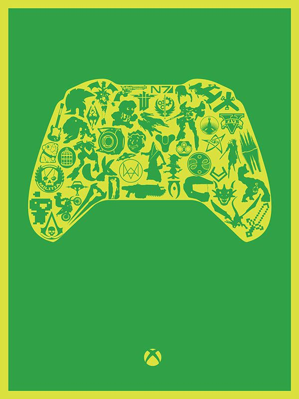 The Greats of Gaming Poster Set - Created by Noah Shantz You can find more of Noah's work on Tumblr.
