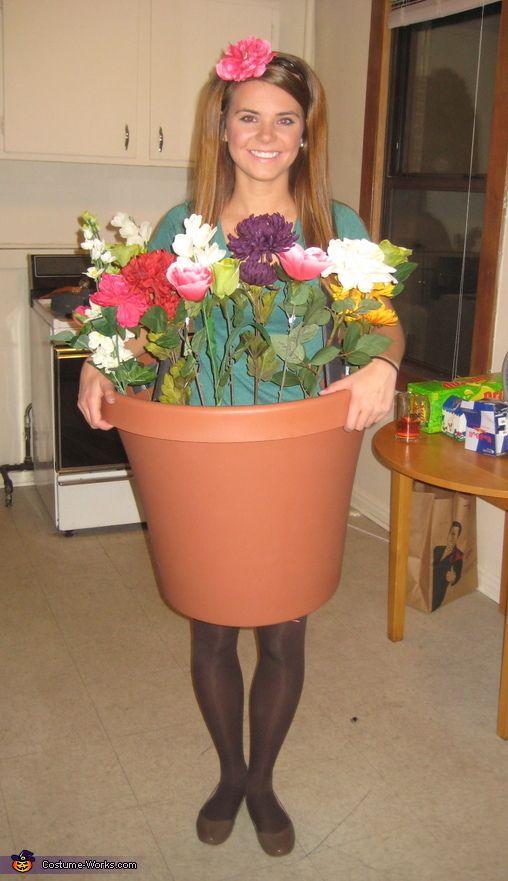 Homemade Flower Pot Costume