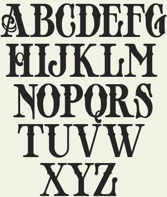 Image result for old english font