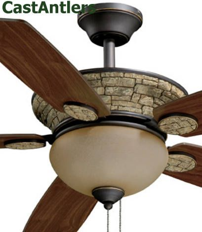 31 Best Images About Rustic Ceiling Fans With Lights On