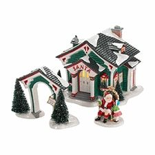 43 best lionel trains houses dept 56 images on pinterest department 56 snow village a visit with santa limited to 2012 production publicscrutiny Image collections