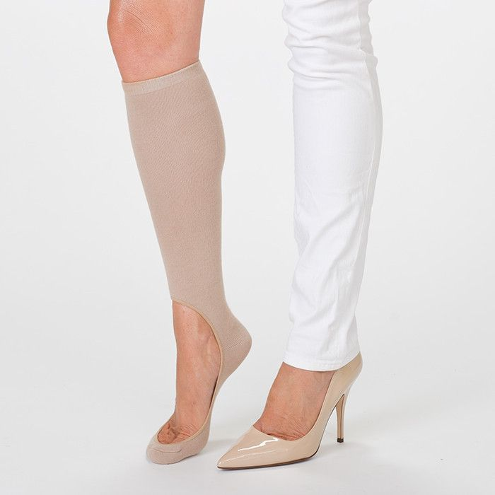 Women's No Show Sock Pair - Nude   Need!