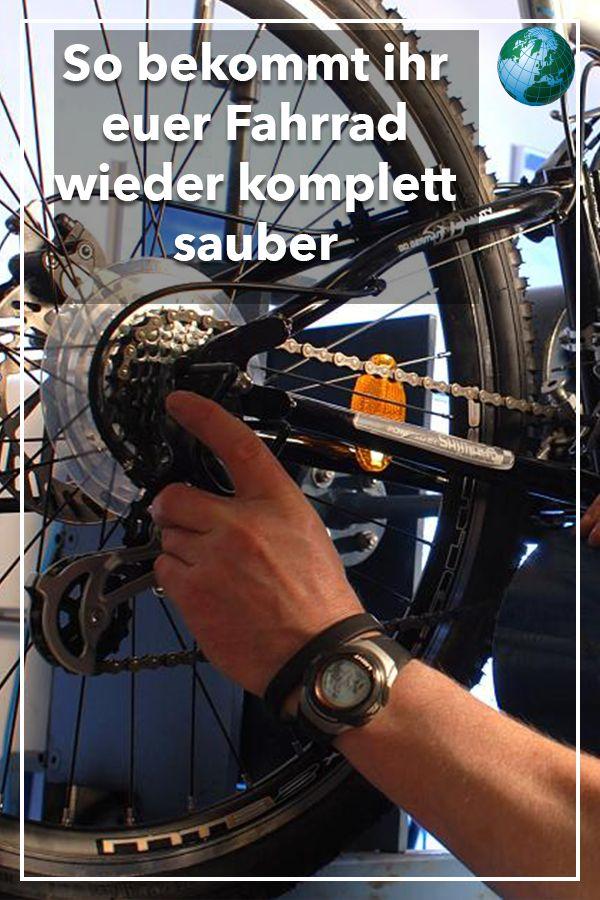 Mit diesem Trick bekommen Sie jeden Dreck von ihrem Fahrrad ab – Video – FOCUS Online